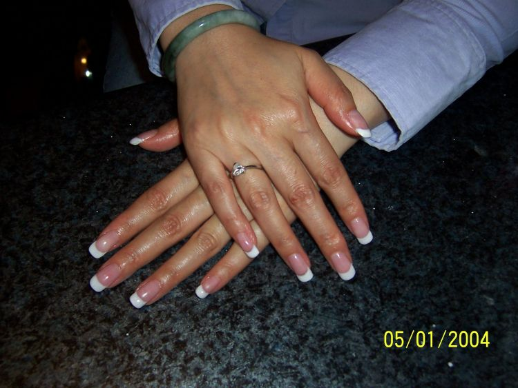 French manicure with natural nails – Great photo blog about manicure ...
